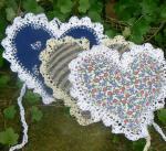Škapulíř levandule srdce