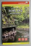 mapa Semilsko, Bozkovsko